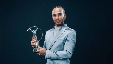 Hamilton Laureus F1 2020 Photo Daimler