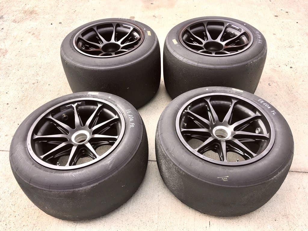 Leclerc Ferrari 18-inch wheels 8 October 2020 Photo Pirelli