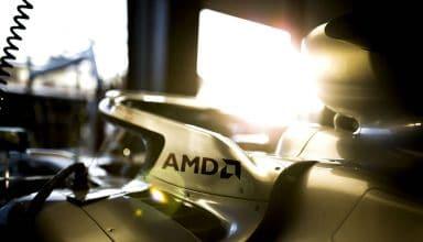 Mercedes AMG Petronas AMD sponsor launch F1 2020 Photo Daimler