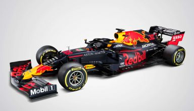 Red Bull RB16 launch studio Photo Red Bull