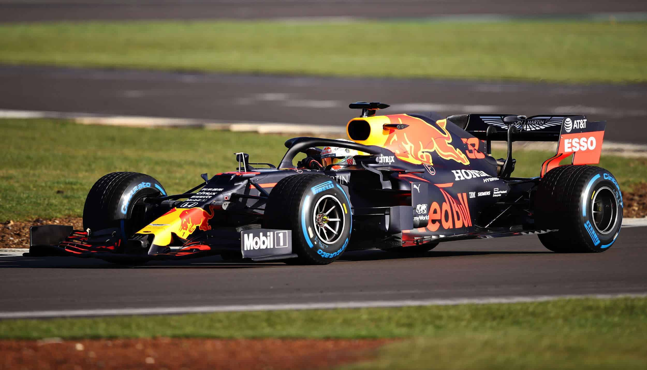 Red Bull RB16 shakedown Silverstone 2 2500px Photo Red Bull