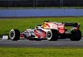 Red Bull RB16 shakedown Silverstone 6 Photo Red Bull