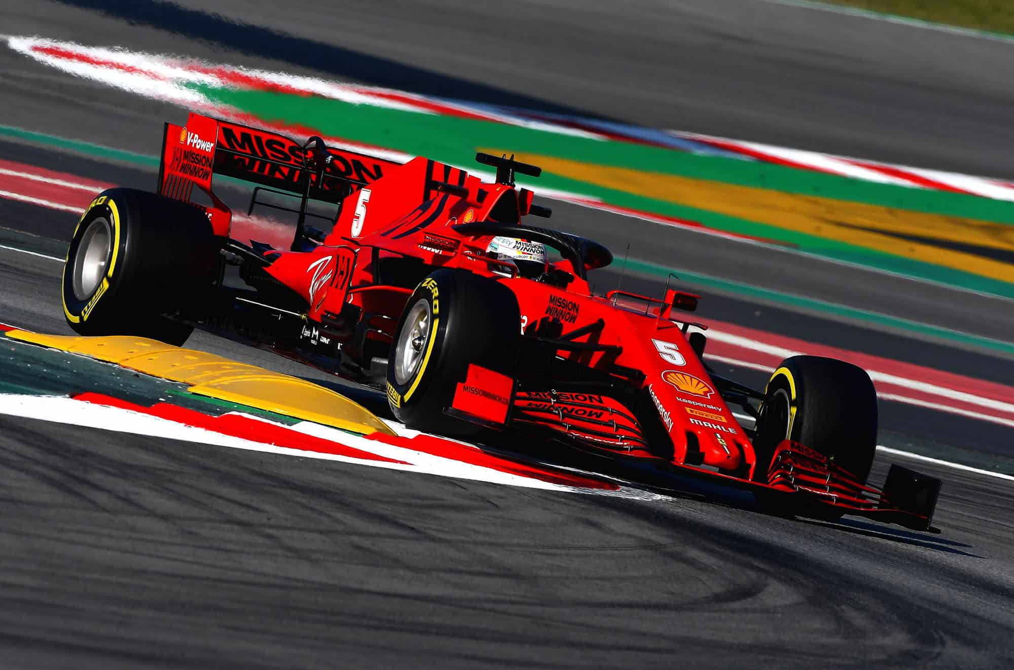 Sebastian-Vettel-Ferrari-SF1000-Barcelona-Test-1-Day-3-Photo-Ferrari