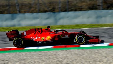 Vettel-Ferrari-SF1000-Barcelona-Test-1-Day-2-side-view-Photo-Ferrari