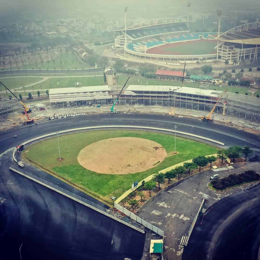 Vietnam GP track progress on 8th February 2020 2 Photo Twitter