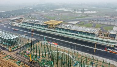 Vietnam GP track progress on 8th February 2020 Photo Twitter