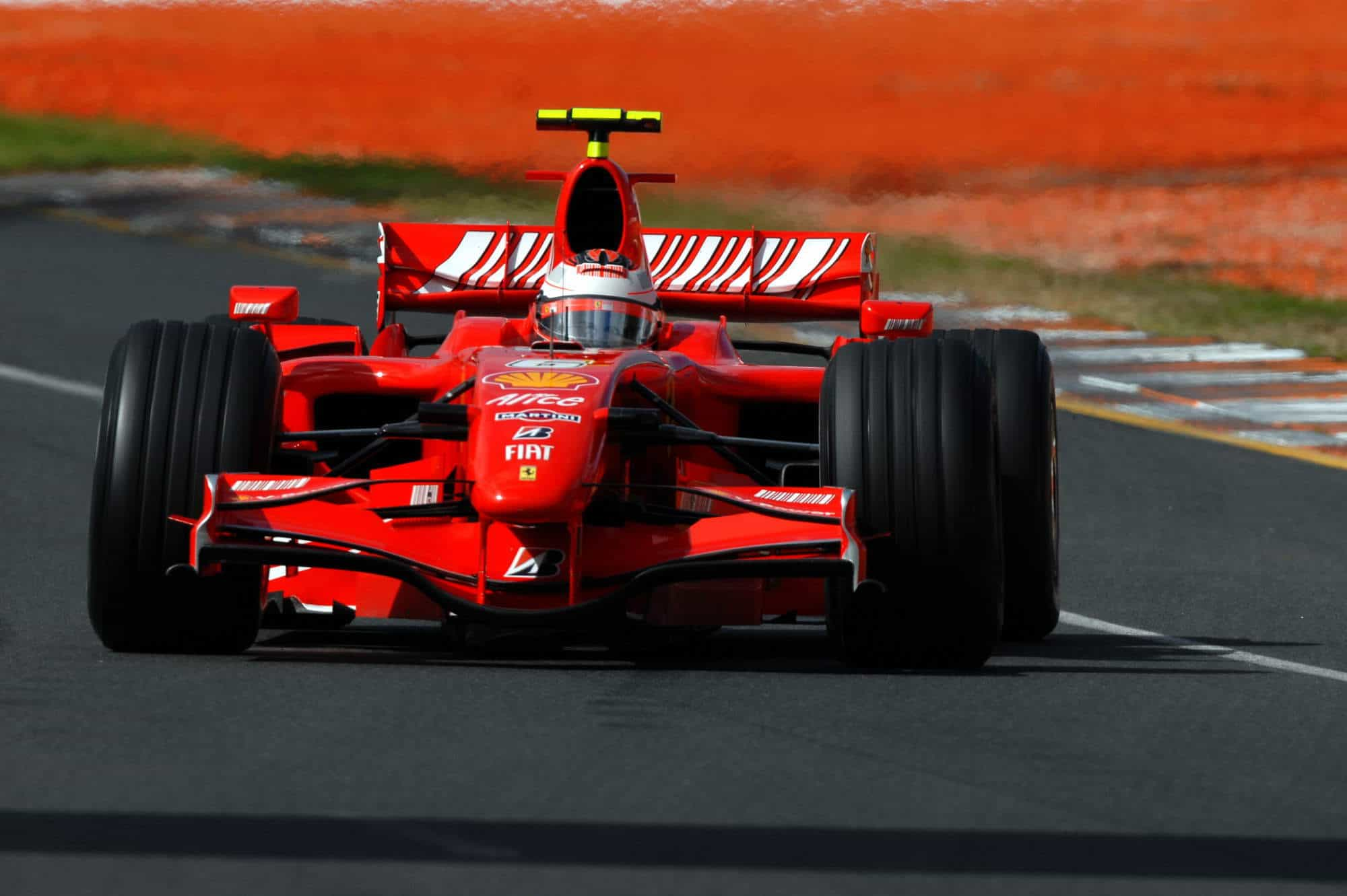 2007 Australian GP Kimi Raikkonen Ferrari F2007 Photo Ferrari