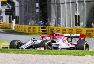 Kimi Raikkonen Alfa Romeo Racing Australian GP F1 2019 Photo Pirelli
