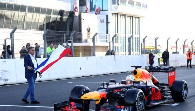 Verstappen Red Bull Zandvoort F1 2020 first laps Photo Red Bull