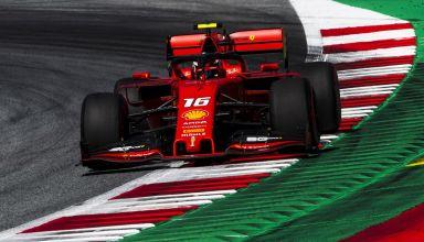 Charles Leclerc Ferrari SF90 Austrian GP F1 2019 last corner Photo Ferrari