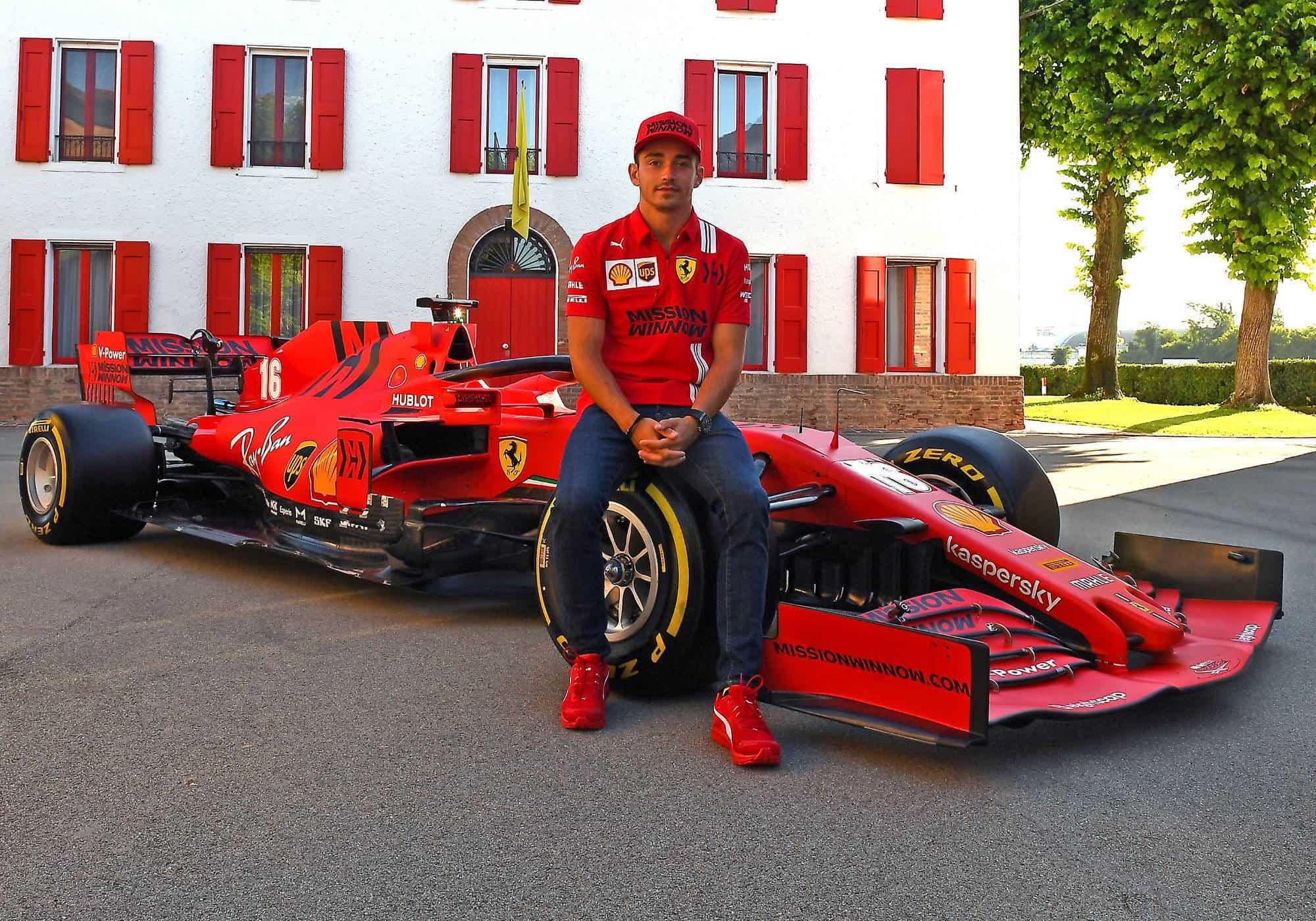 Leclerc Ferrari SF1000 Maranello Photo Ferrari