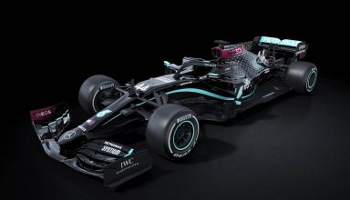 Mercedes F1 W11 black edition F1 2020 Photo Daimler
