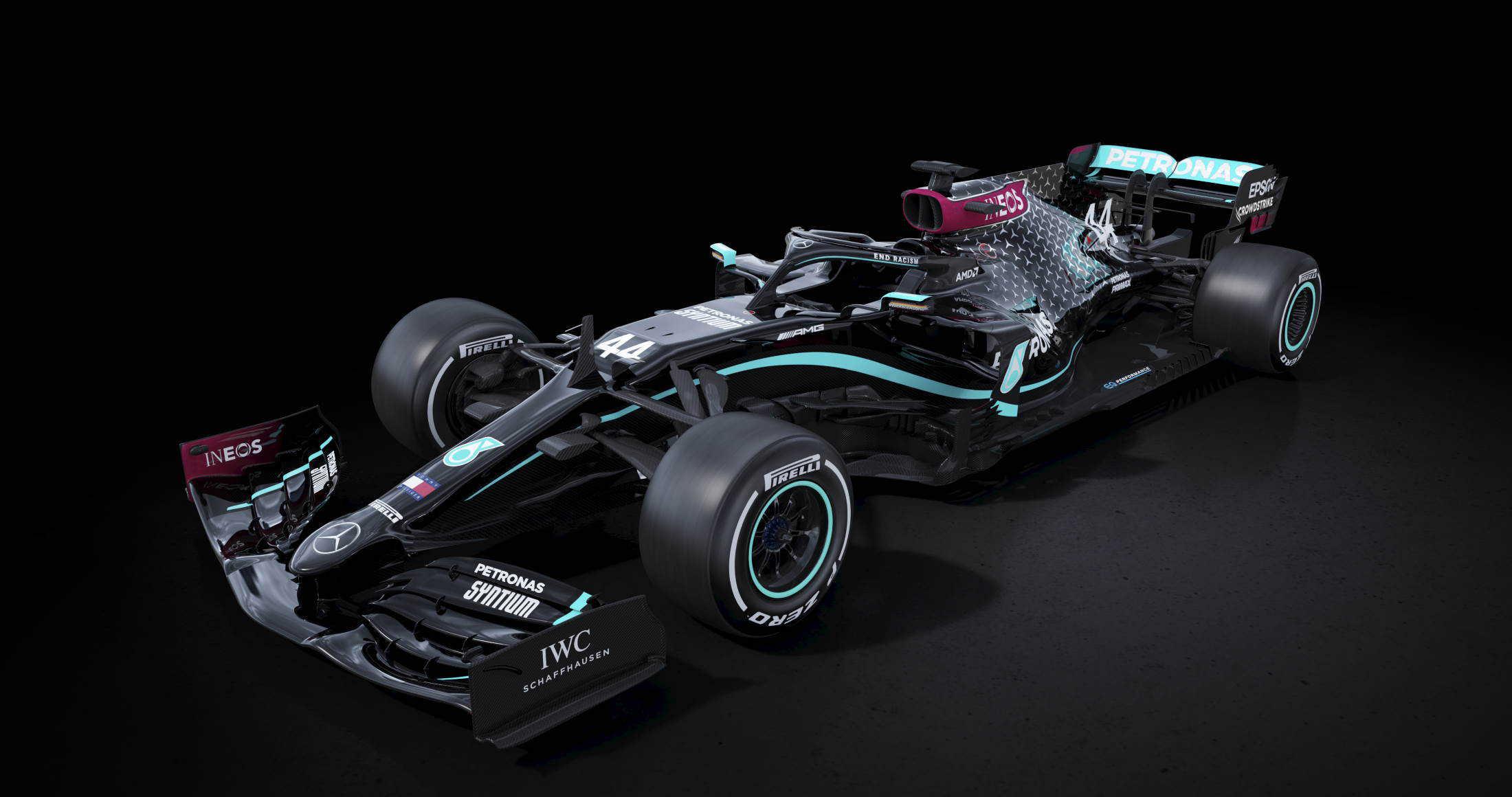 Mercedes F1 W11 black edition F1 2020 Photo Daimler