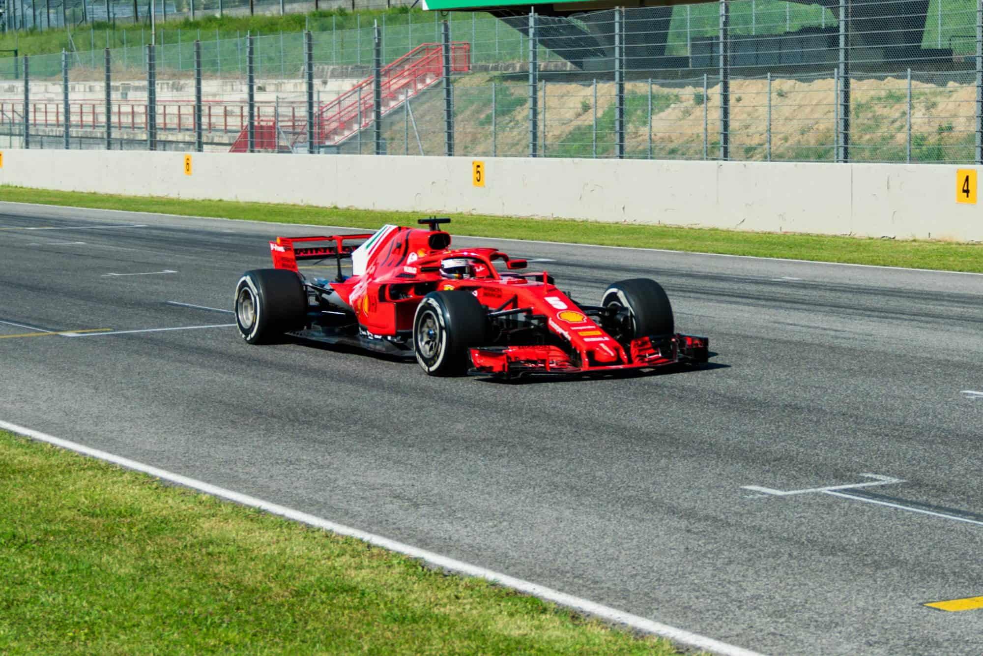 Vettel Ferrari SF71H Mugello test 23rd June 2020 Photo Ferrari