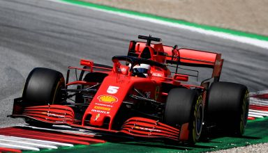 2020 Austrian GP Vettel Ferrari SF1000 medium Pirelli Photo Ferrari