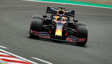 2020 Hungarian GP Verstappen Red Bull RB16 Q Photo Red Bull