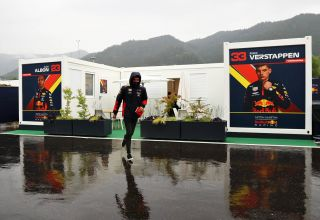 2020 Styrian GP FP3 canceled wet Albon runs Photo Red Bull