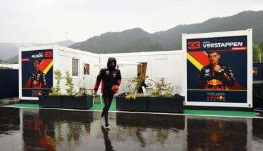 2020 Styrian GP FP3 canceled wet Albon runs Photo Red Bull