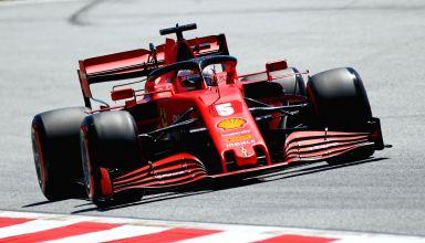 2020 Styrian GP Vettel Ferrari SF1000 Photo Ferrari