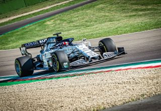Alpha Tauri Imola F1 2020 test Photo AlphaTauri Red Bull