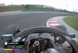 Hamilton Mercedes 2020 Hungarian GP onboard screenshot Photo Youtube F1-com