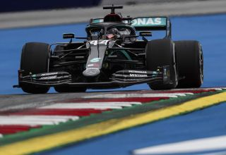 Hamilton Mercedes F1 W11 Austrian GP F1 2020 FP1 Photo Daimler
