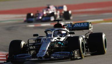 Hamilton Mercedes F1 W11 Barcelona Testing F1 2020 Photo Daimler