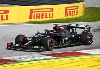 Hamilton Mercedes Styrian GP F1 2020 race soft Pirelli Photo Daimler