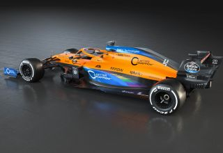 MCL35_Rainbow_BB Photo McLaren F1