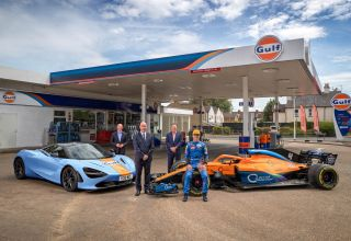 McLaren Gulf F1 2020 sponsor announcement Photo McLaren