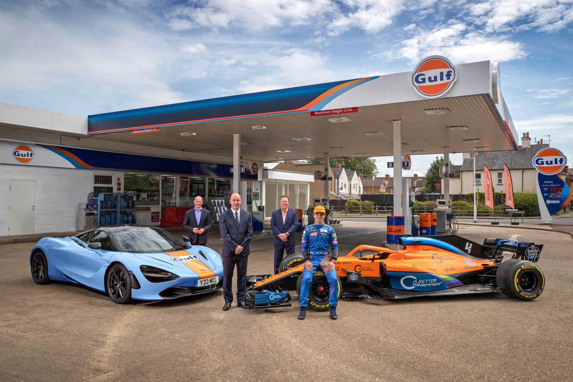 McLaren Gulf F1 2020 sponsor announcement Photo McLaren