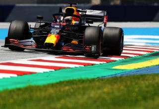 Verstappen Red Bull RB16 Styrian GP F1 2020 FP2 Photo Red Bull