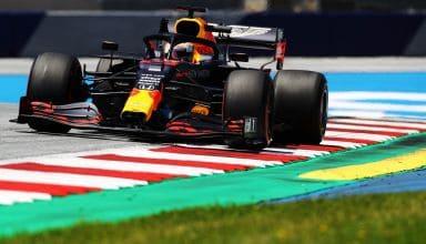 Verstappen Red Bull RB16 Styrian GP F1 2020 FP2 Photo Red Bull