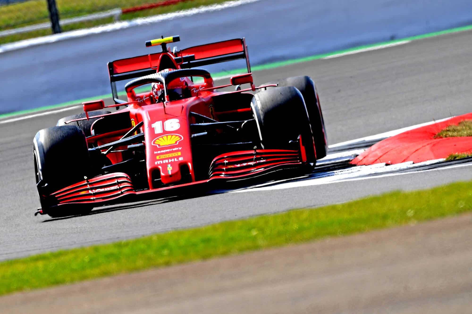 2020 70th Anniversary GP Leclerc soft Pirelli Photo Ferrari