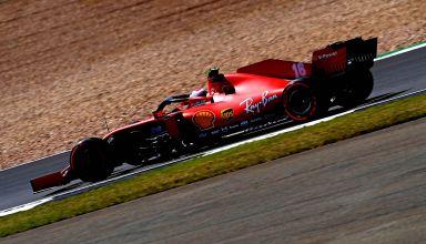 2020 70th Anniversary Leclerc soft Pirelli Photo Ferrari