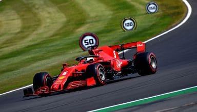 2020 70th Anniversary Vettel soft Pirelli Photo Ferrari
