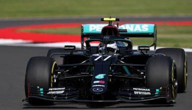 2020 British GP Bottas Mercedes Photo Daimler