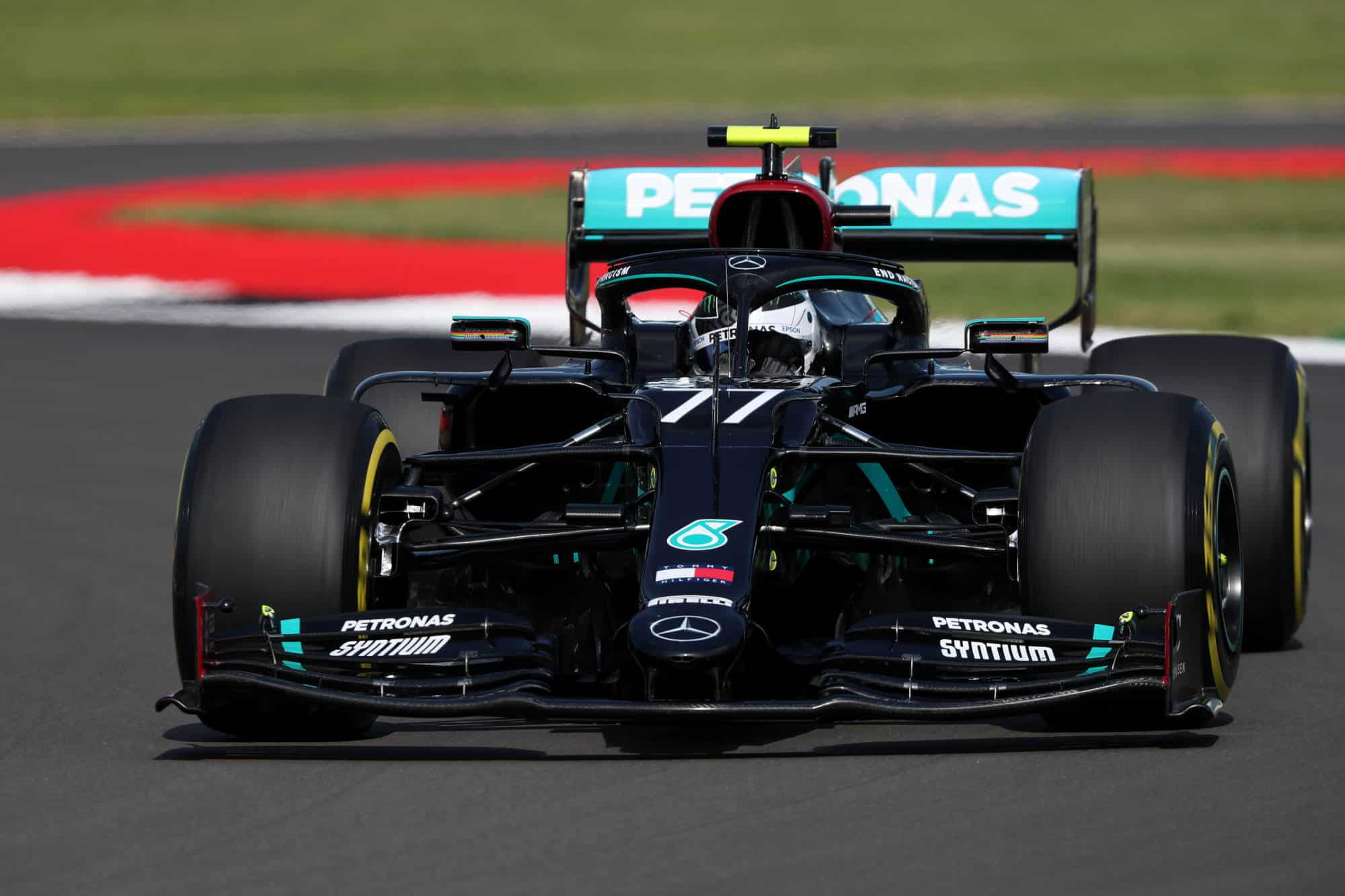 2020 British GP Bottas Mercedes Photo Daimler