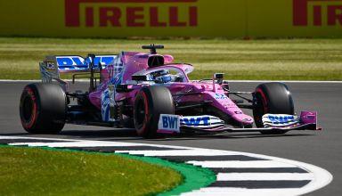 2020 British GP Hulkenberg Racing Point Photo Pirelli