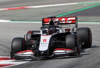 2020 Spanish GP Grosjean Haas Friday Photo Haas Media F1