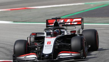 2020 Spanish GP Grosjean Haas Friday Photo Haas Media F1