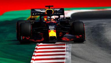 2020 Spanish GP Verstappen Red Bull qualifying 3rd sector Photo Red Bull