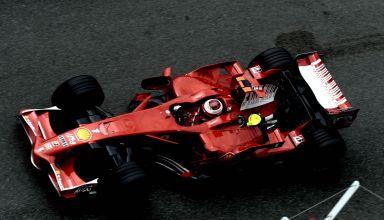 2008 French GP Raikkonen Ferrari F2008 Photo Ferrari