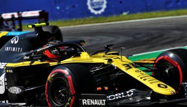2020 Italian GP Ocon Renault soft Pirelli Photo Renault