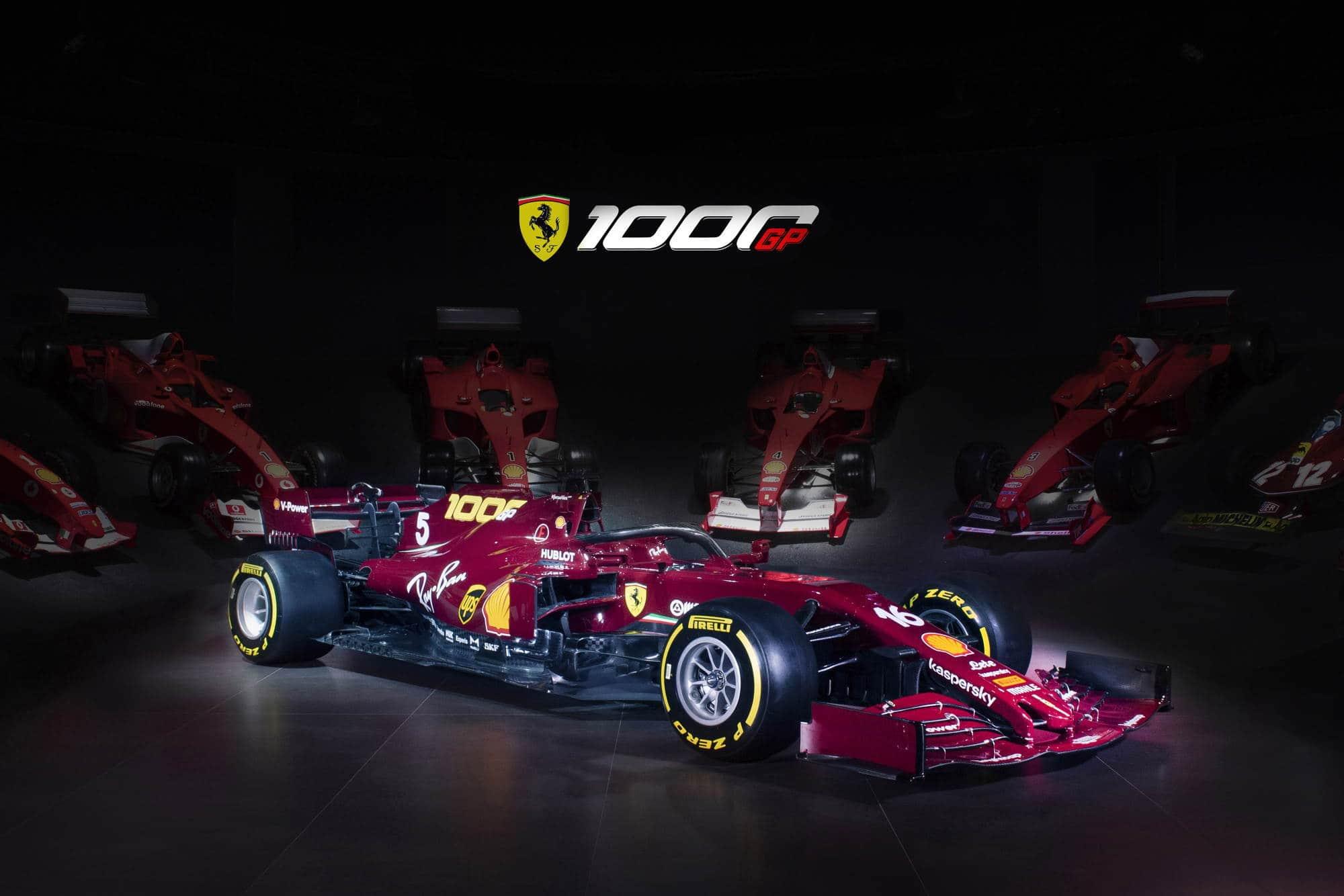 2020 Tuscan GP Ferrari SF1000 special livery Photo Ferrari