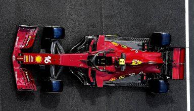 2020 Tuscan GP Ferrari SF1000 special livery on track side Thursday Photo Ferrari