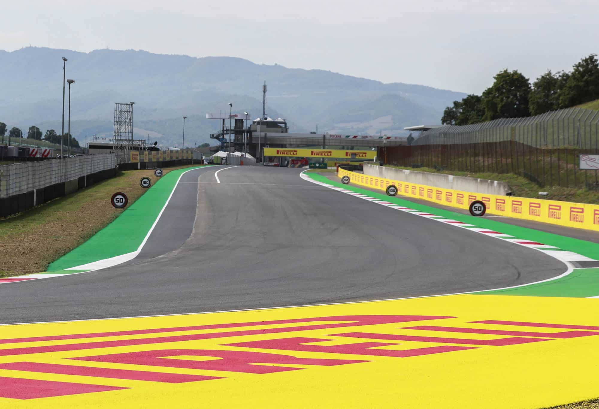 2020 Tuscan GP Mugello circuit Thursday Photo Pirelli