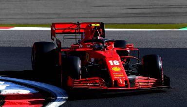 2020 Eifel GP Leclerc Ferrari Photo Ferrari
