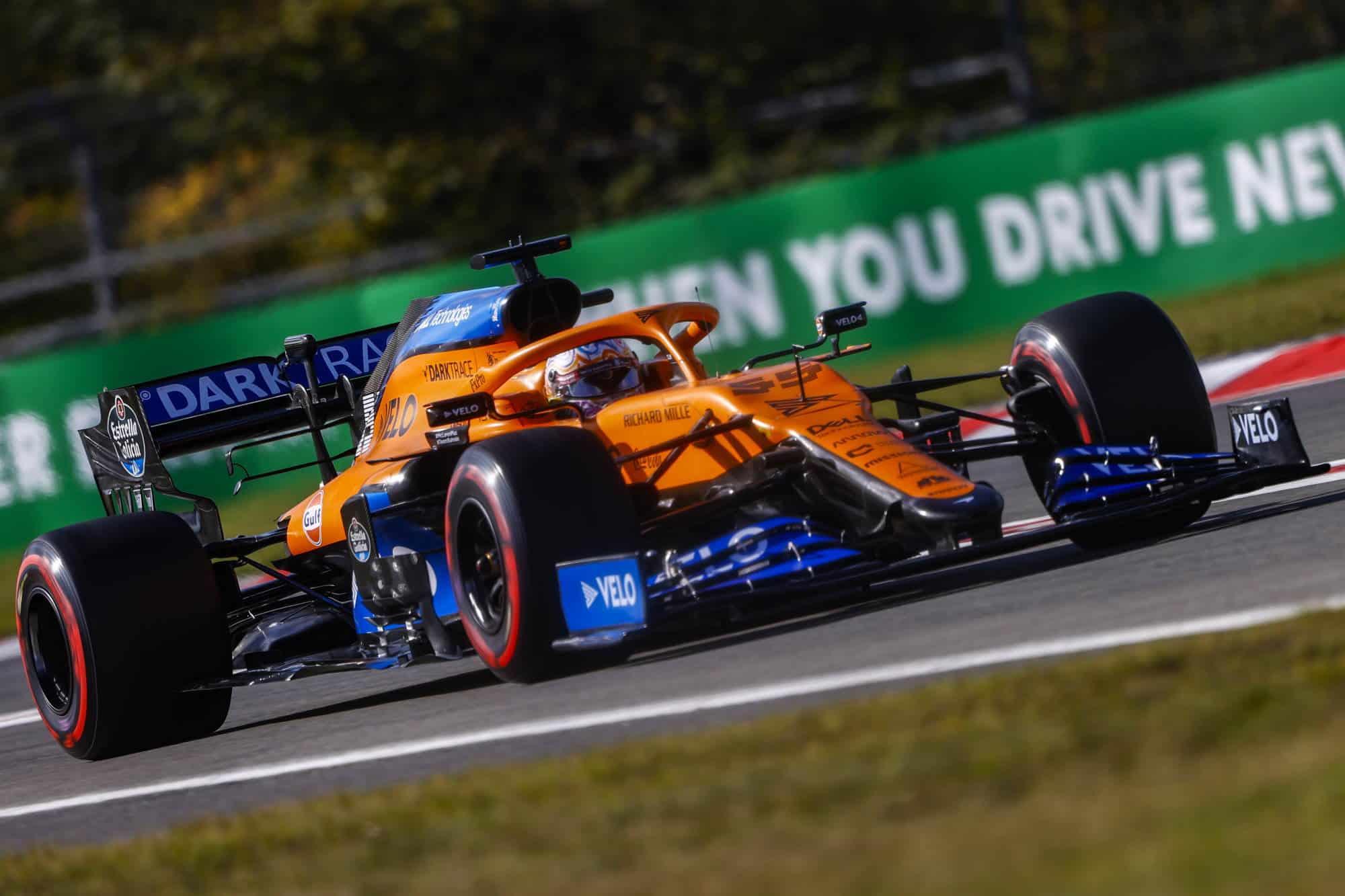 2020-Eifel-GP-Sainz-McLaren-MCL35-new-nose-aero-package-Photo-McLaren