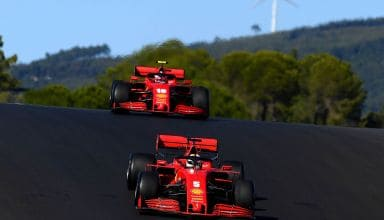 2020 Portugal GP Ferrari Leclerc and Vettel Photo Ferrari